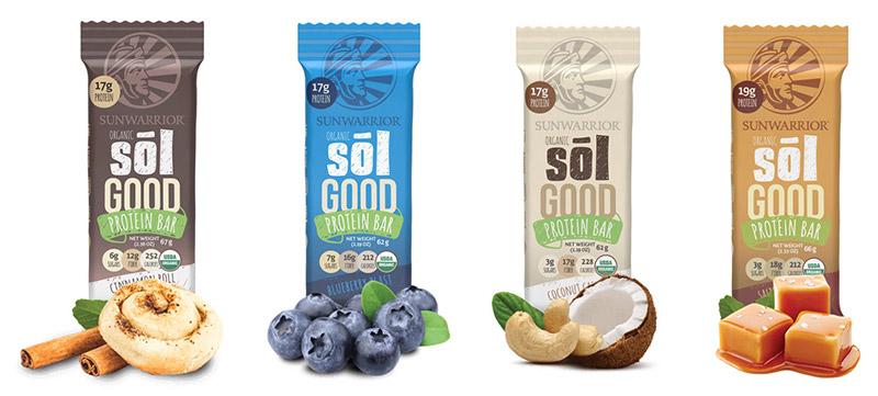 Proteinske tablice Sunwarrior - Sol Good Bar