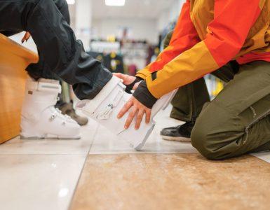 Velikost smučarskih čevljev